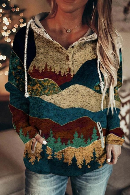 3D Print Sweater Women | Printed hoodie