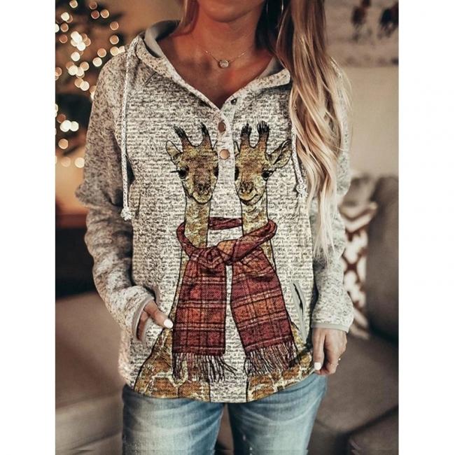 Weihnachtspullover Damen | Sweatshirt Hoodie Bedrucken