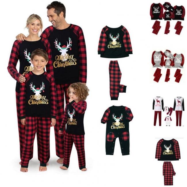 Schlafanzug Weihnachten Winter | Nachtwäsche Damen Elegant