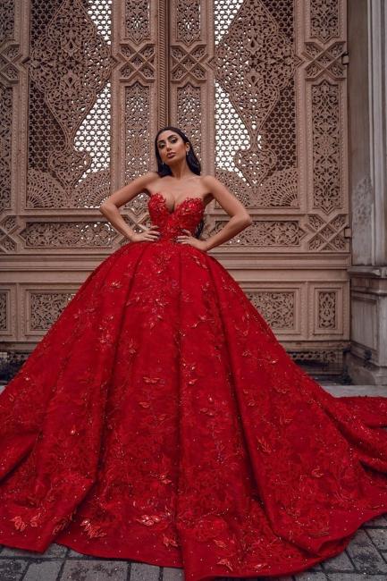 Rote Abendkleider Lang Günstig | Abendmodenrobe Damen