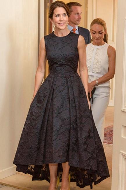 Beautiful black cocktail dresses | Evening dresses front short long back