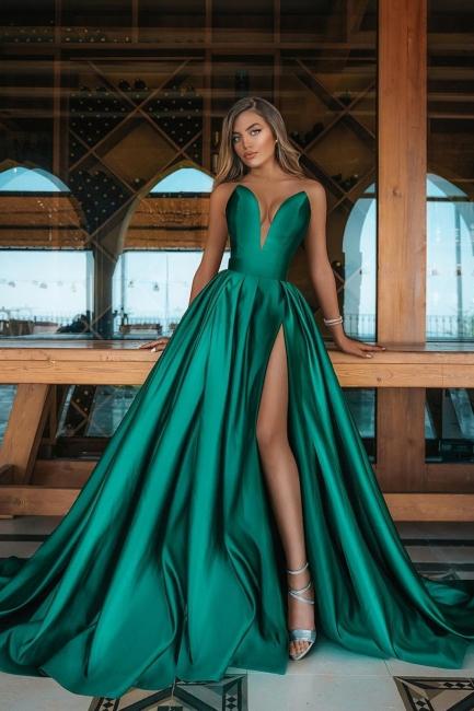 Grüne Abendkleider Lang | Abiballkleider Günstig