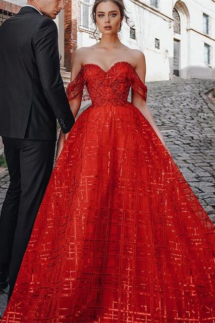 Schöne Abendkleider Günstig | Abendkleider Lang Rot