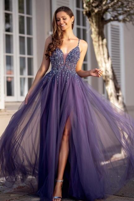 Elegante Abendkleider Lang Günstig | Abiballkleider Online