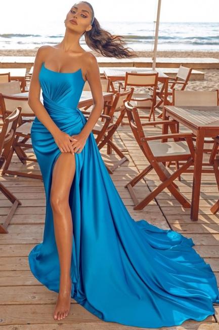 Abiballkleider Lang Günstig | Abendkleid Blau