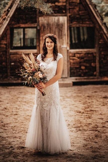 Modern wedding dresses mermaid lace | Wedding Dresses Cheap Online
