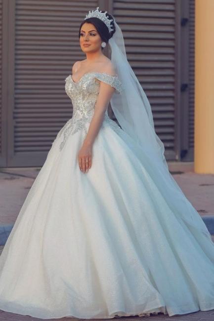 Designer Hochzeitskleider Prinzessin | Brautkleider mit Spitze
