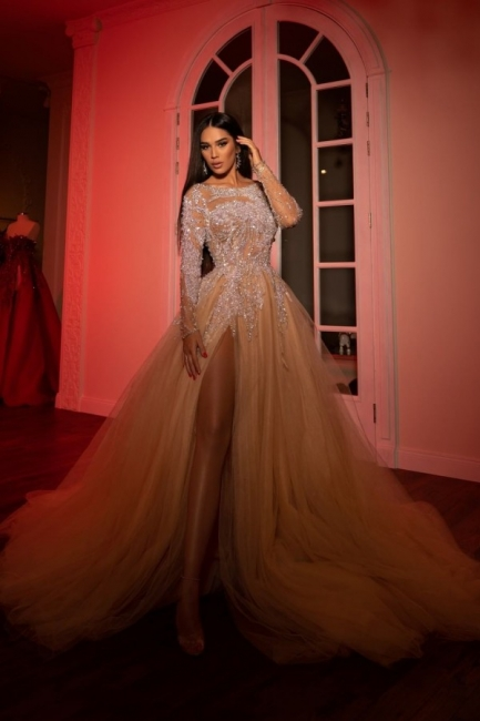 Extravagant Evening Dresses Long Cheap | Prom dresses with sleeves