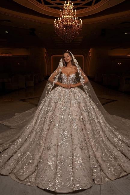 Luxury White Wedding Dresses A Line Lace Wedding Dresses Online