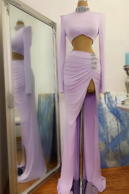 Sexy Long Prom Dresses Cheap | Evening dresses with sleeves