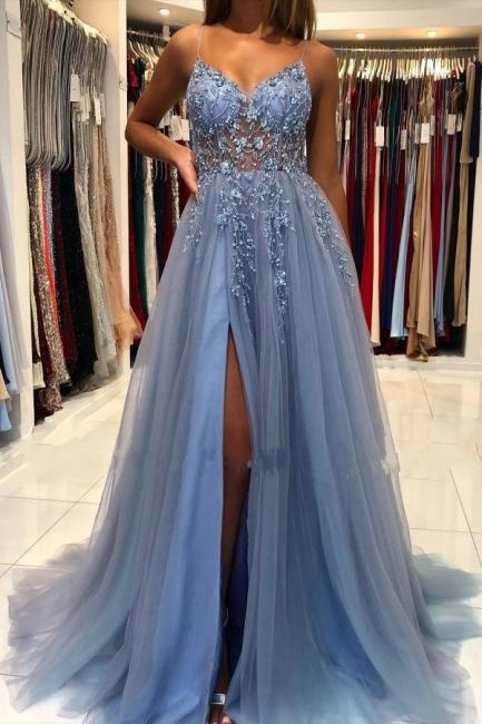 Blue Evening Dresses Long Cheap | Buy prom dresses online