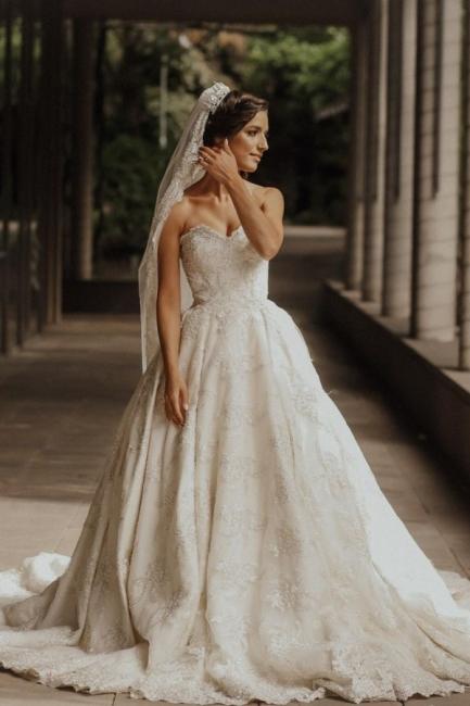 Luxury wedding dress A line | Wedding dresses lace