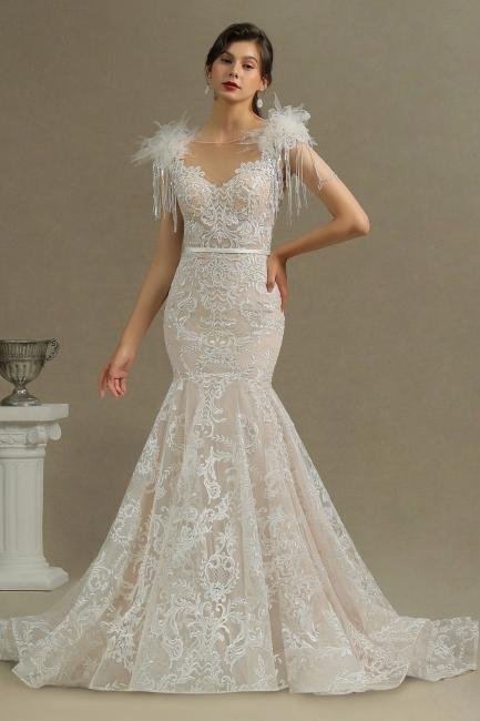 Designer Hochzeitskleider Meerjungfrau | Spitze Brautkleider Online