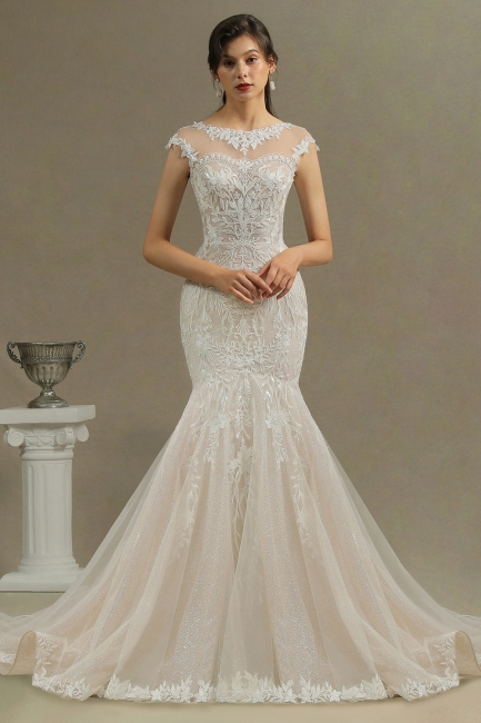 Luxury Brautkleid Meerjungfrau | Hochzeitskleider Spitze