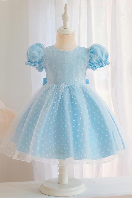 Süßige Blumenmädchenkleider Rosa | Kinder Hochzeitskleider