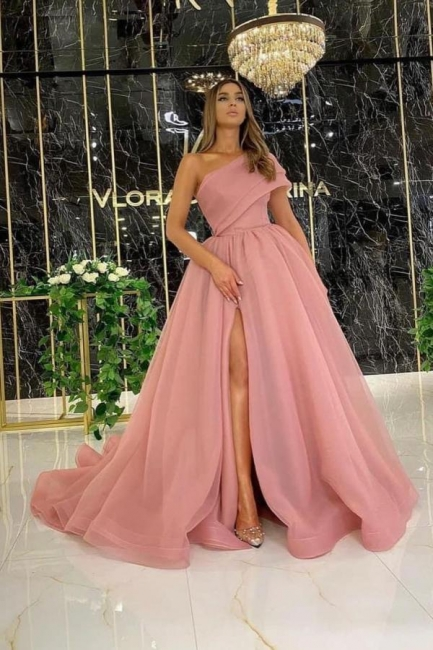 Evening dress long dusty pink | Buy cheap prom dresses online
