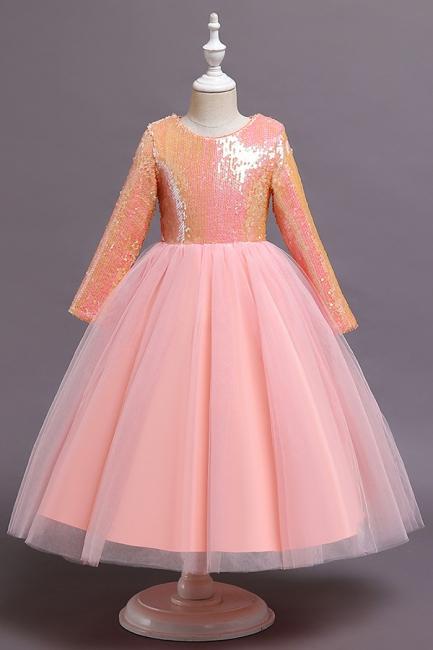 Blumenmädchenkleider Rosa Günstig | Kinder kleider Für Blumenmädchen