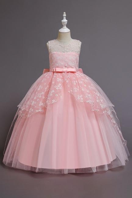 Weinrot Blumenmädchenkleider Günstig | Kinder Hochzeitskleider