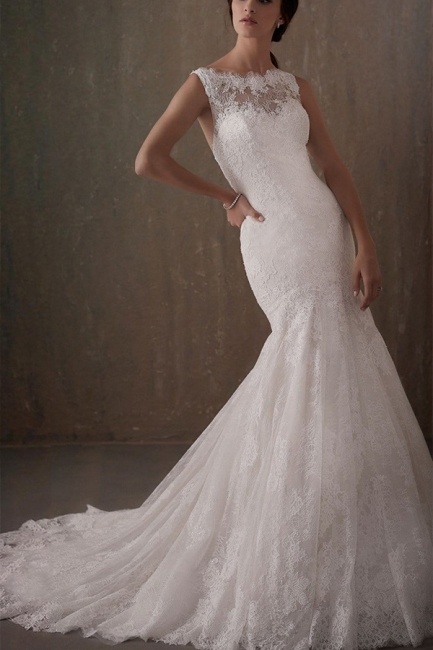 Wedding dresses mermaid lace   Elegant wedding dresses