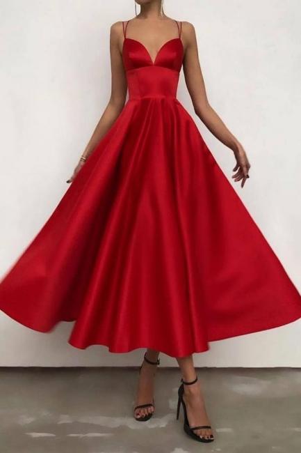 Rote Cocktailkleider Günstig | Abendkleider Abiballkleider Online