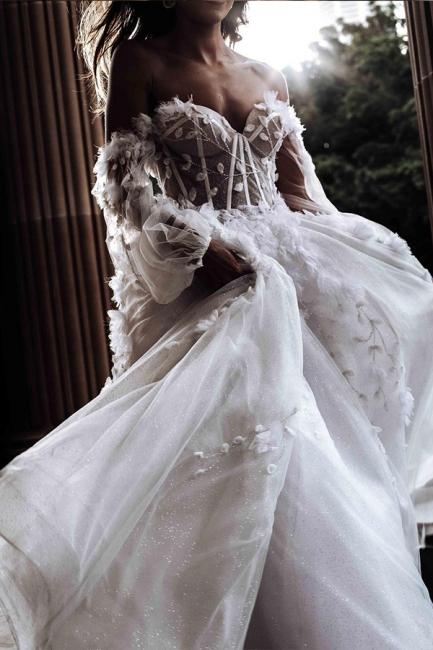 Elegant wedding dresses with sleeves   Wedding dresses lace