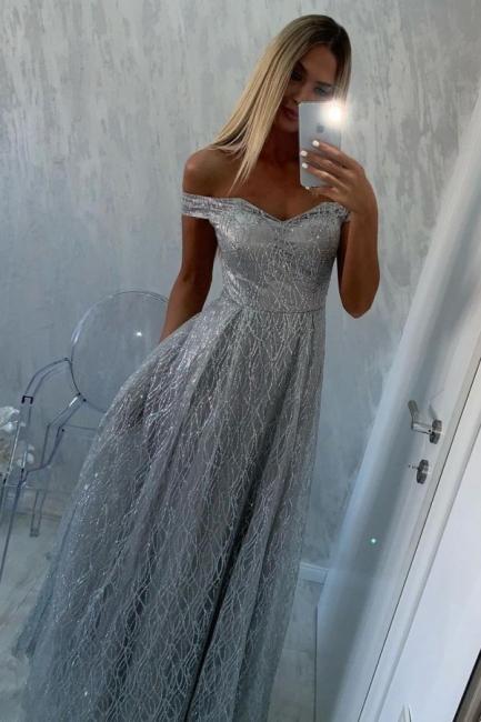 Evening dresses long glitter | Prom dresses Günsitg