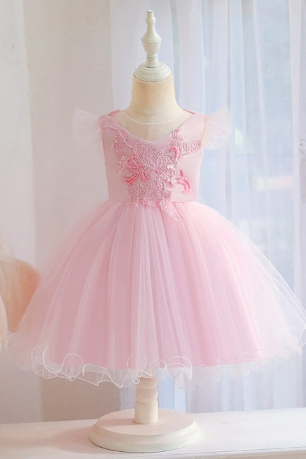 Pink Flower Girl Dresses Cheap | Children's wedding dresses online