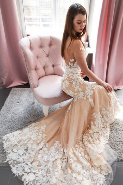 Beautiful mermaid wedding dress | Wedding dresses with lace
