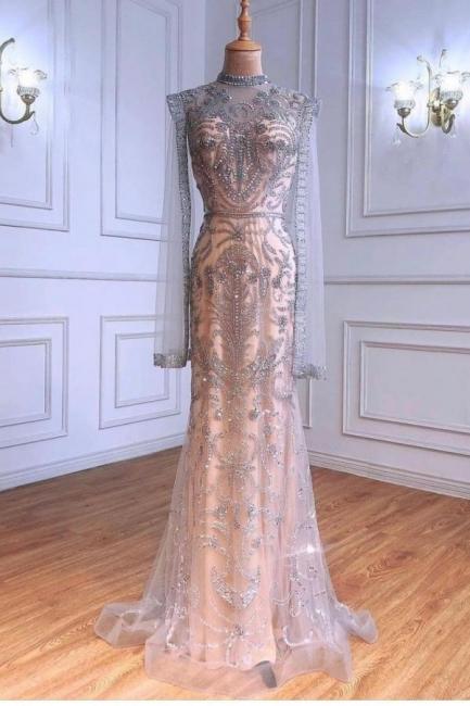 Luxury evening dresses glitter cheap | Buy Long Prom Dresses