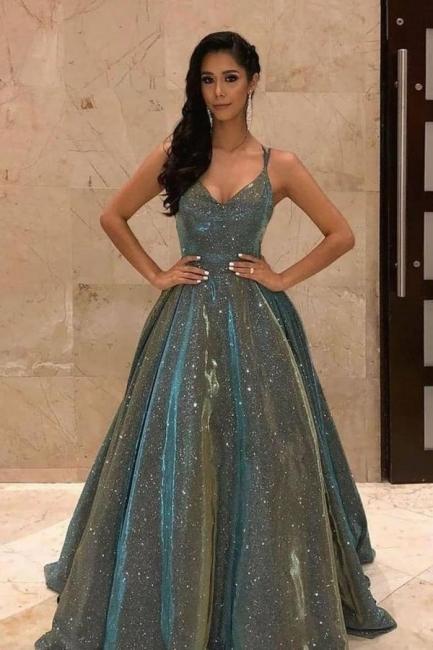 Long glitter prom dresses | Evening dresses cheap
