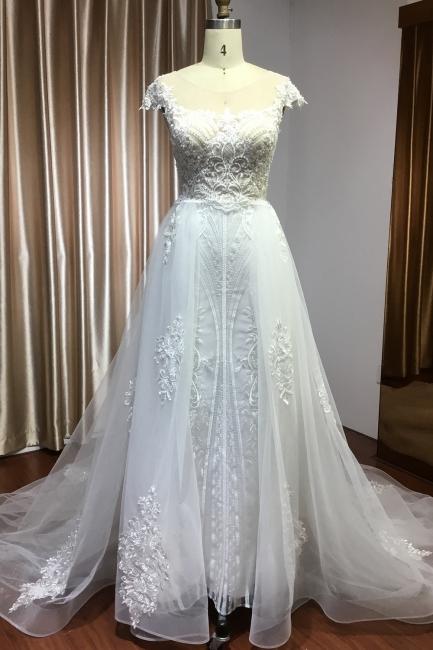 Elegant wedding dresses A line | Buy Glitter Wedding Dresses