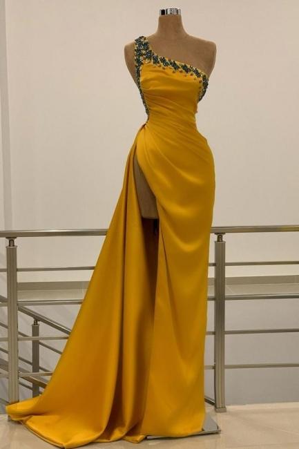 Long Gold Prom Dresses | Evening wear online