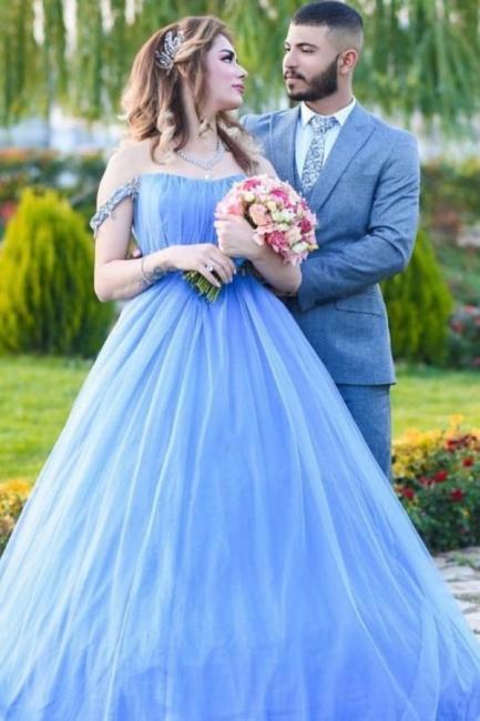 Blue Evening Dress Long Cheap | Evening wear online