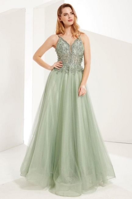MInt Evening Dresses Long Cheap | Prom dresses with lace