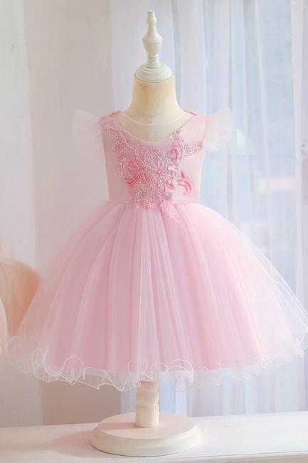Kinder Hochzeitskleider   Blumenmädchenkleider Günstig Online