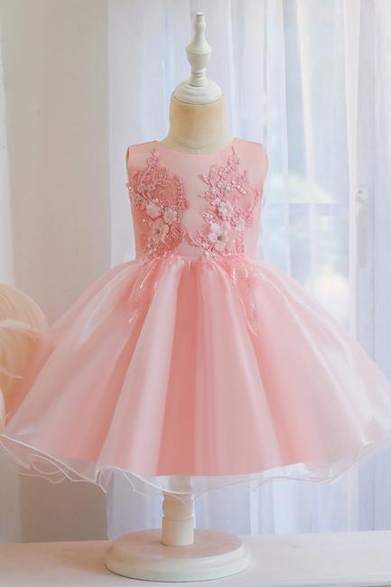 Wunderschöne Blumenmädchenkleider | Kinder Hochzeitskleider Günstig