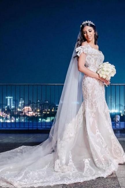 Beautiful mermaid lace mermaid dresses | Cheap Wedding Dresses Online