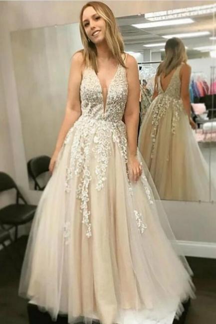 Beautiful evening dress long lace | Prom dresses prom dresses online