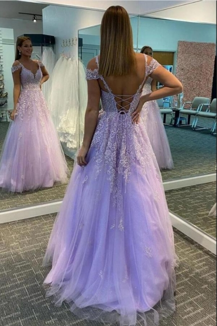Beautiful evening dresses with lace | Prom dresses long cheap