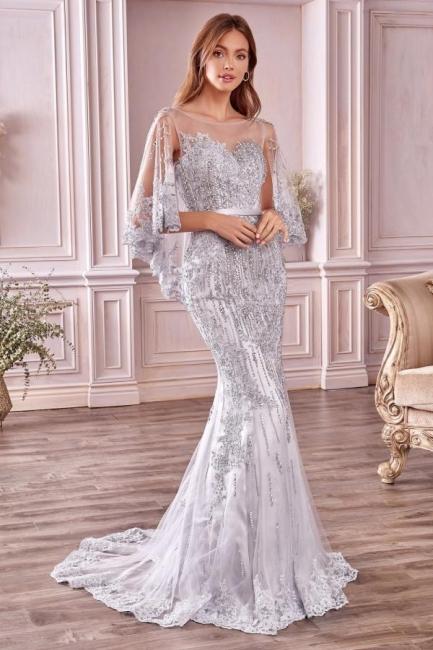 Luxus Abendkleider Lang Spitze   Abiballkleider Online Kaufen