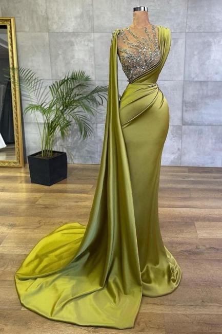 Grüne Abiballkleider Günstig | Abendkleider Lang Glitzer