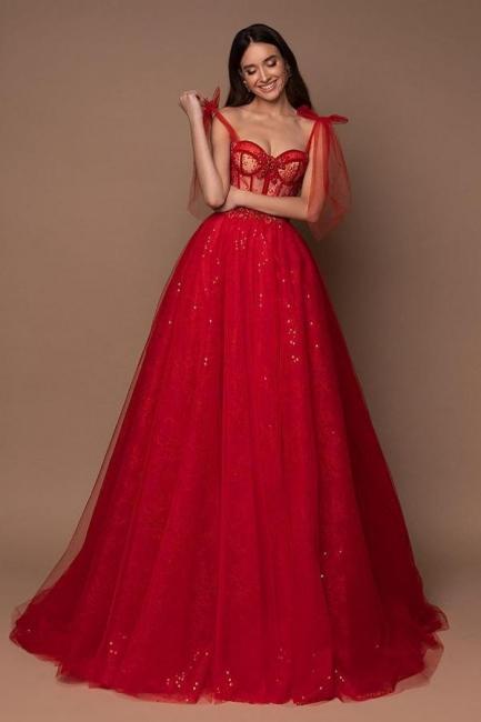 Rote Abiballkleider Günstig | Abendkleider Lang Glitzer