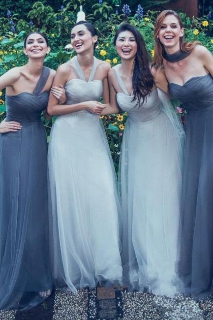 Umwandelbare Brautjungfernkleider Lang   Brautjungfernkleid Günstig Online
