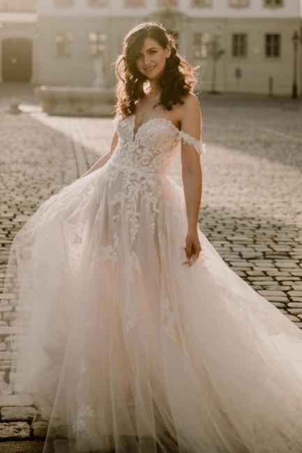 Simple wedding dresses lace   Buy boho wedding dresses online