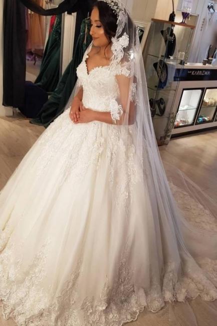 Beautiful wedding dresses princess | Wedding dresses with lace