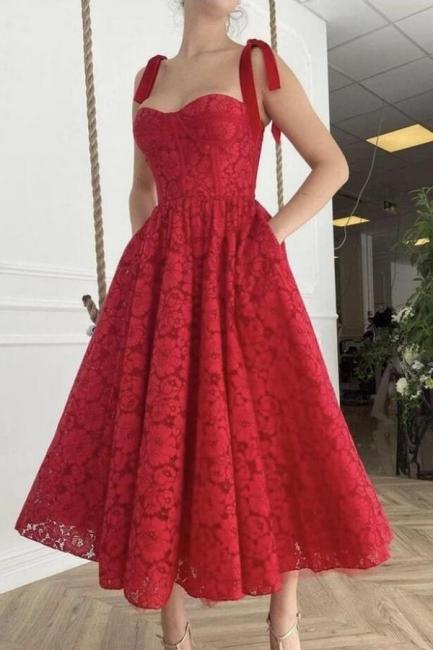 Cocktailkleider Kurz Rot   Abendkleider Abiballkleider Kurz