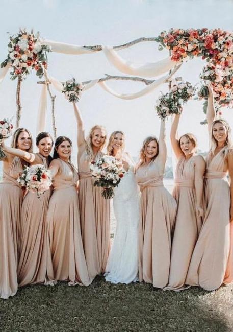 Cheap Bridesmaid Dresses Long Convertible   Bridesmaid dress