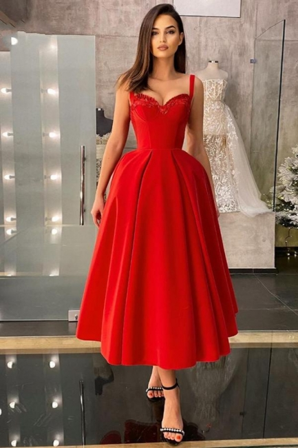 Cocktail dresses short red | Prom dresses cheap