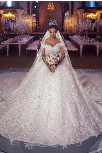 Luxury Prinzessin Brautkleider Spitze | Hochzeitskleider Online Kaufen