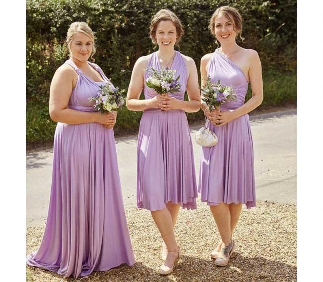 Purple Bridesmaid Dresses Cheap   Bridesmaid dress short